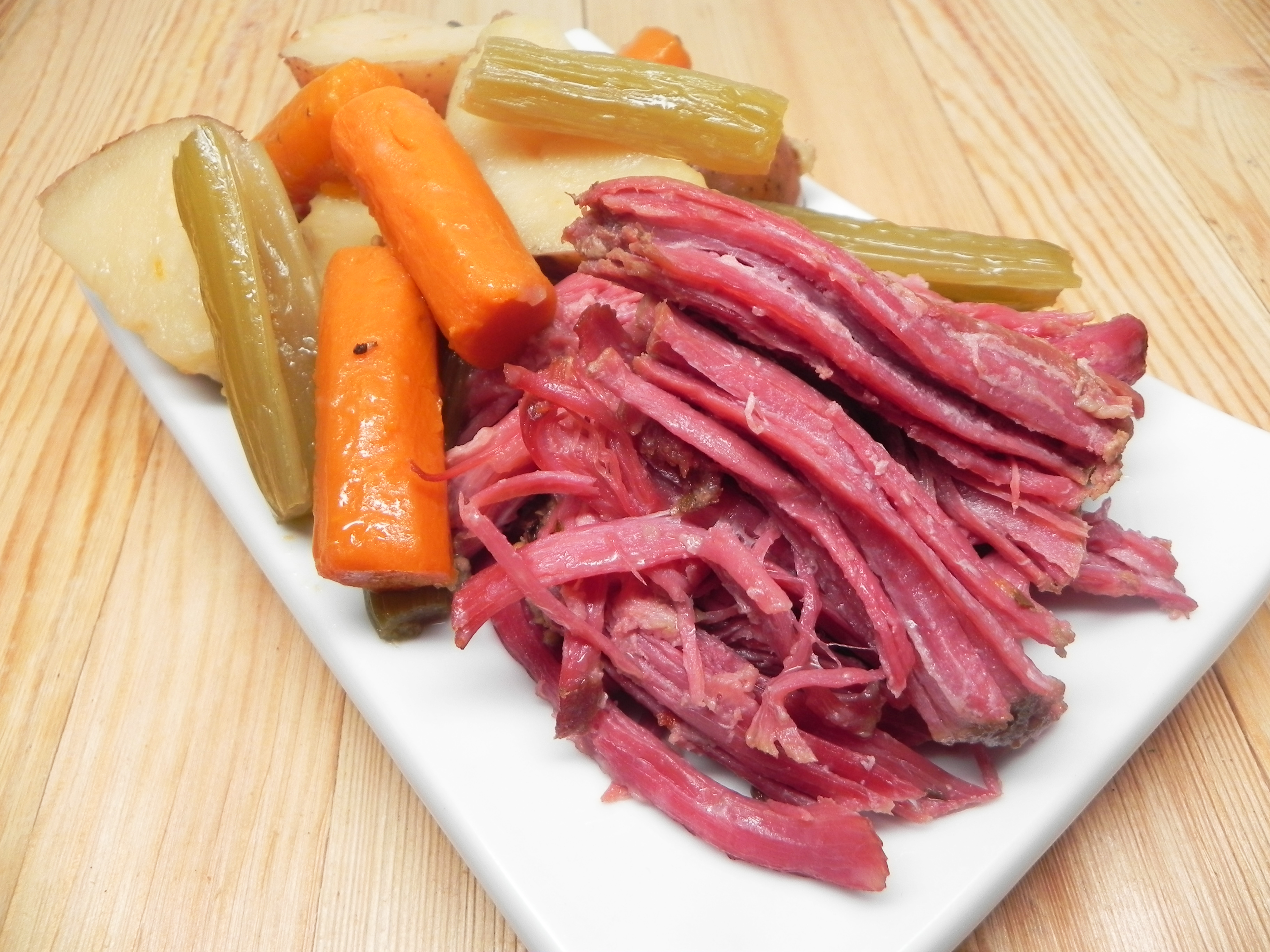 Sarah S Slow Cooker Corned Beef And Cabbage Recipe Allrecipes