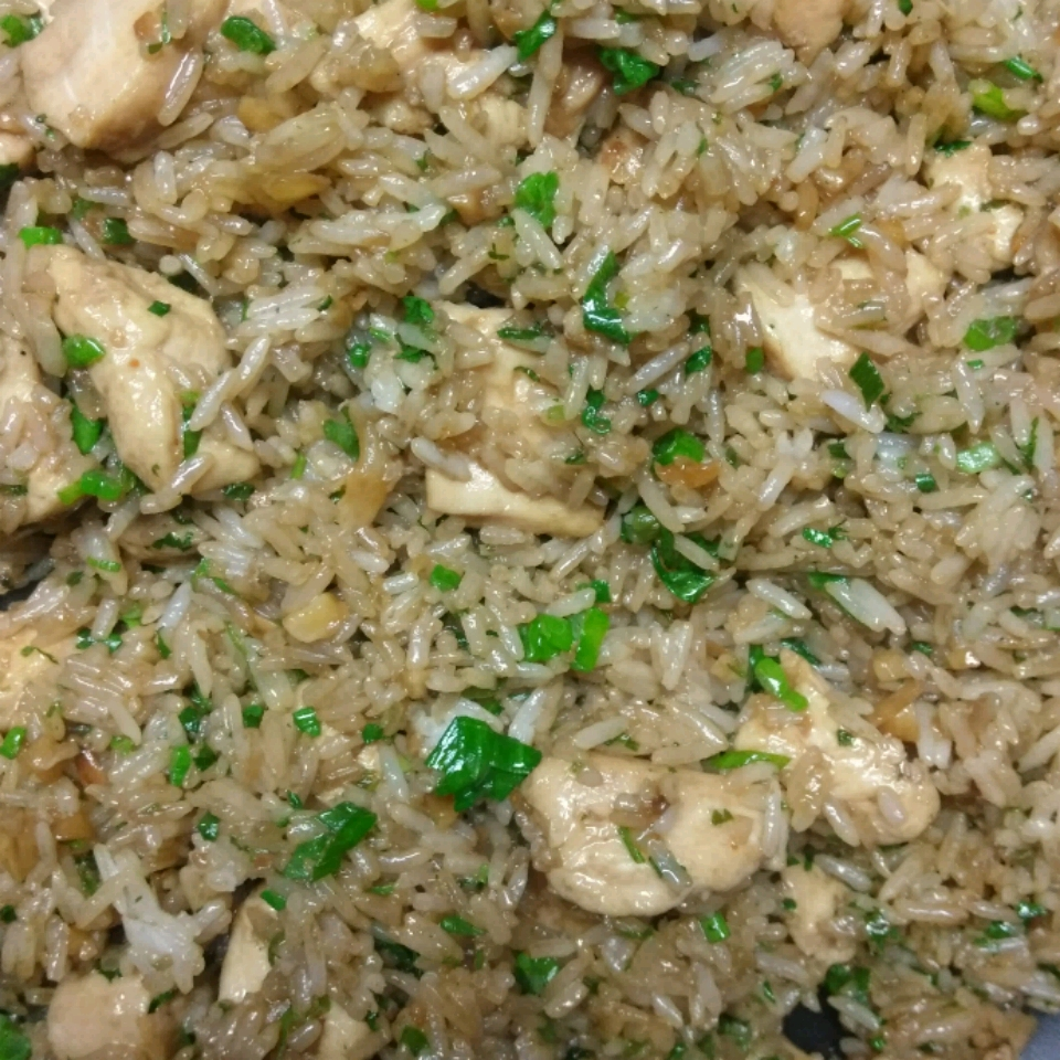 Fried Rice with Cilantro Jason Doelman