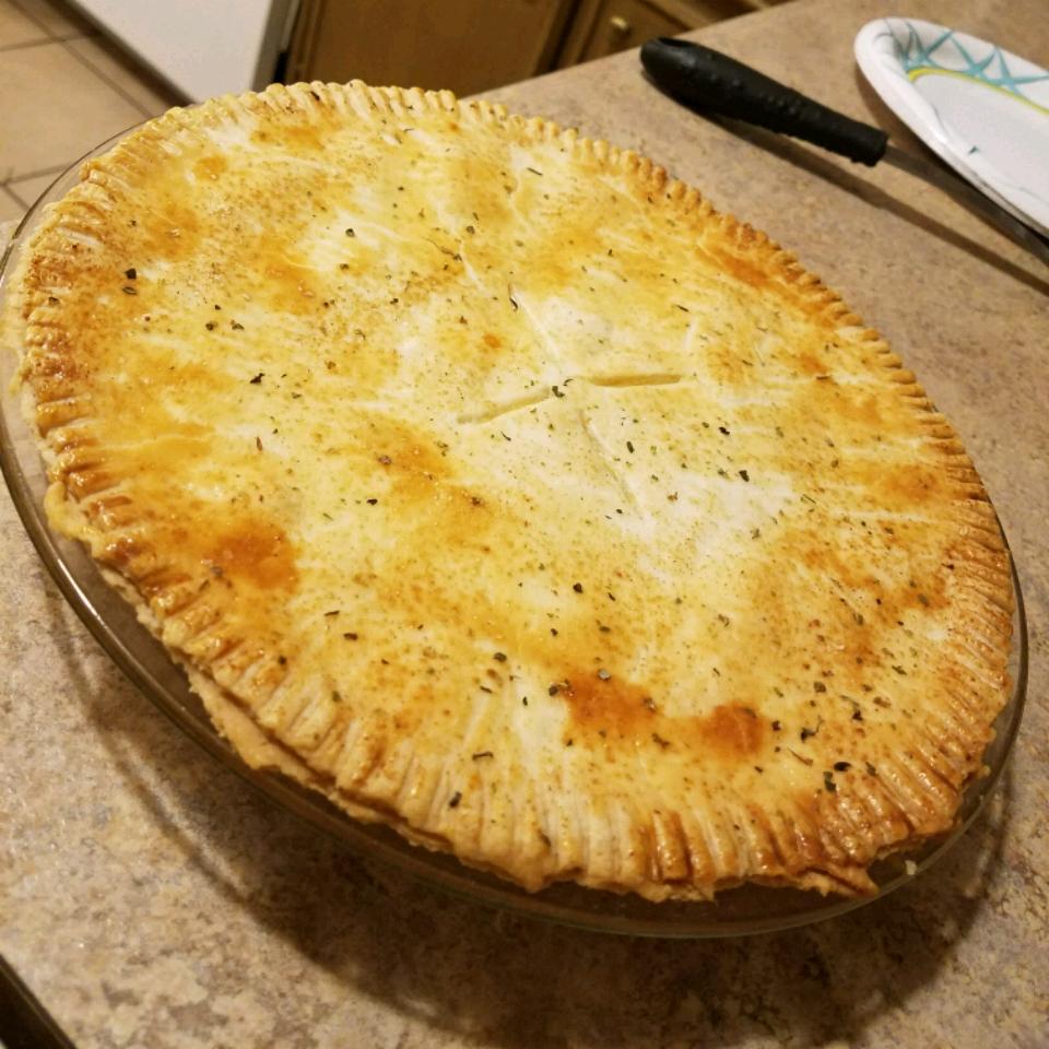 Chicken or Turkey Pot Pie Casey Combs