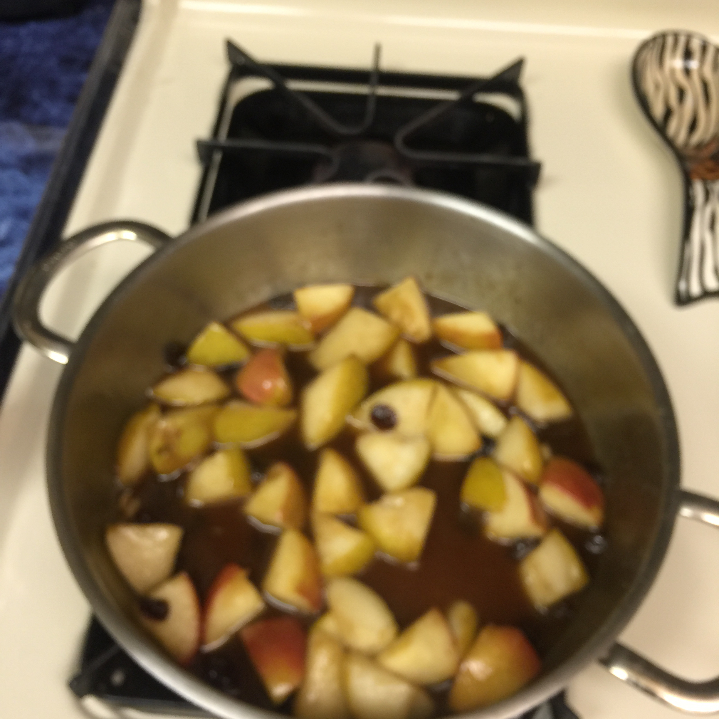 Bourbon Fried Apples Kevin N DC