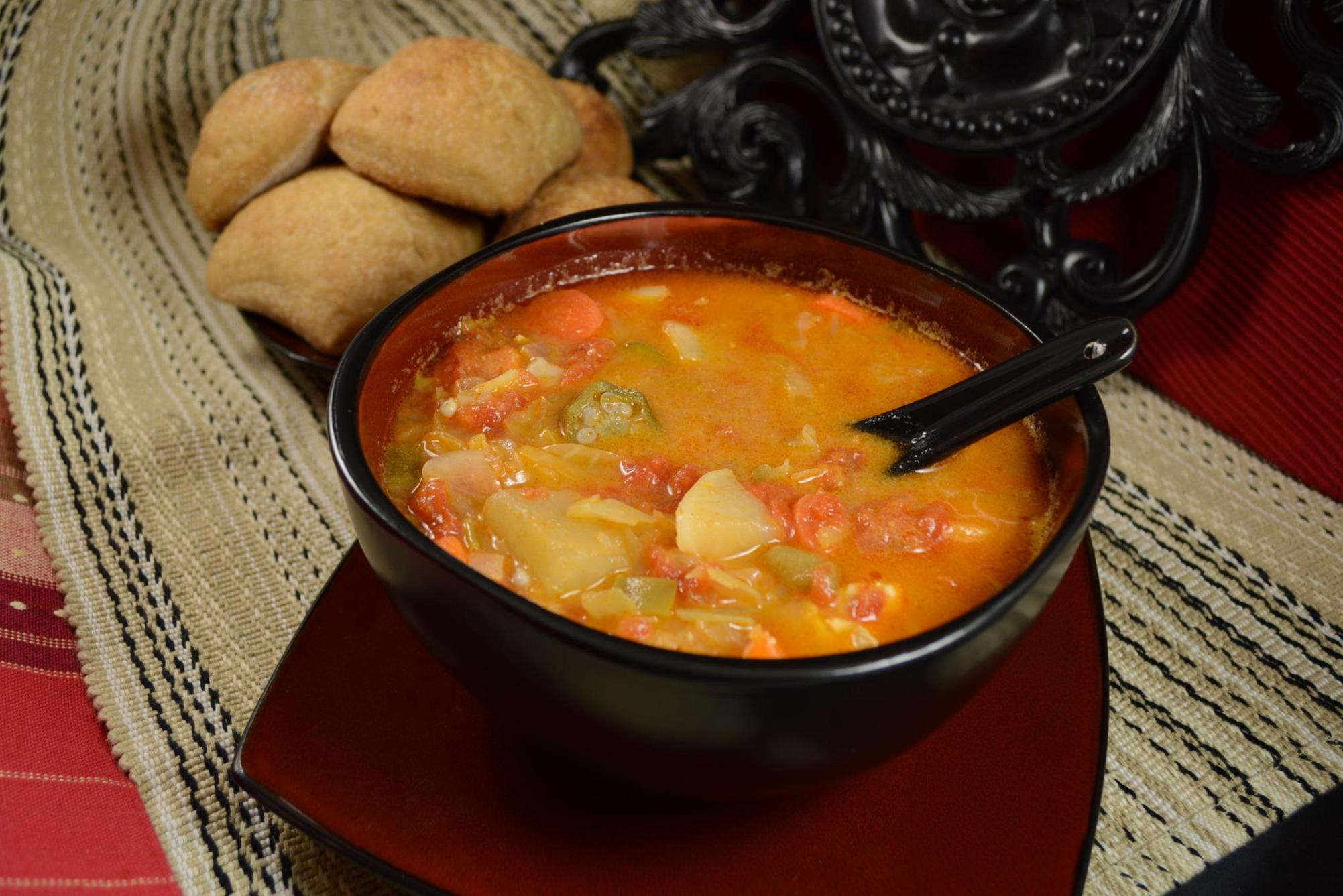 Zimbabwean Chicken and Vegetable Soup mary