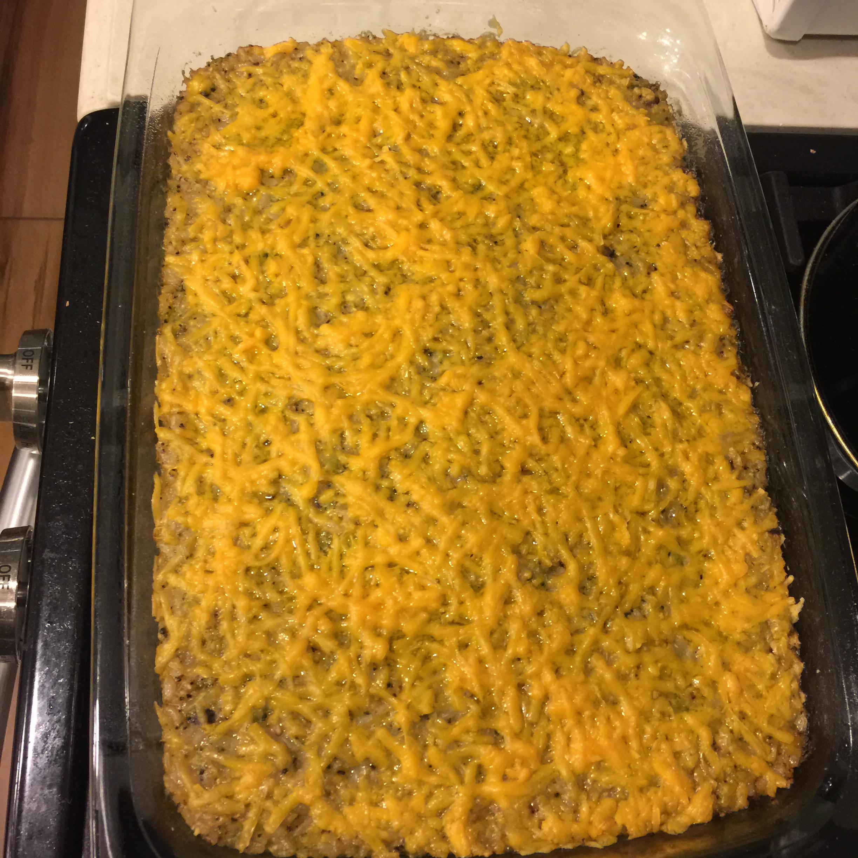 Broccoli Casserole with Rice