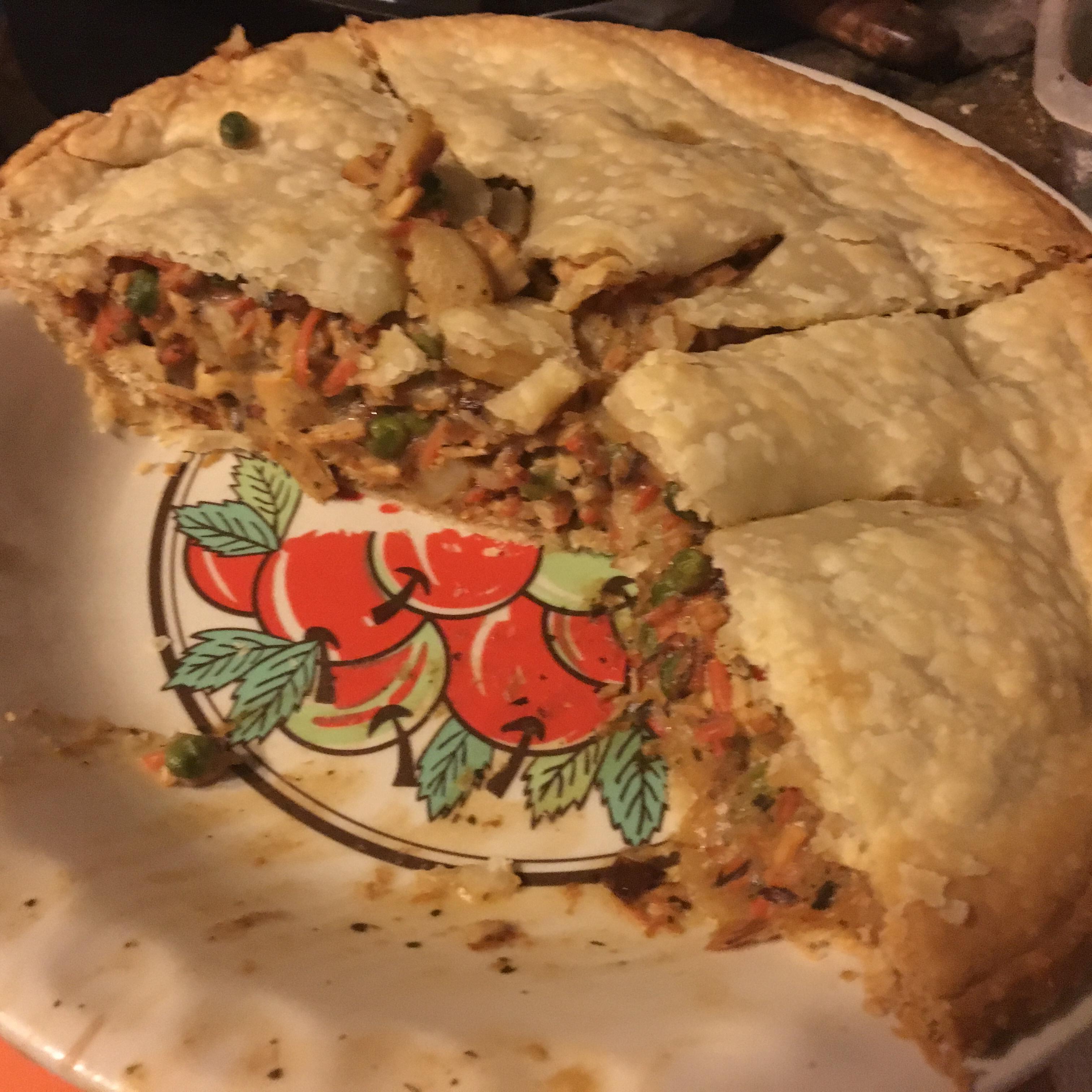 Turkey Pot Pie a la Kat
