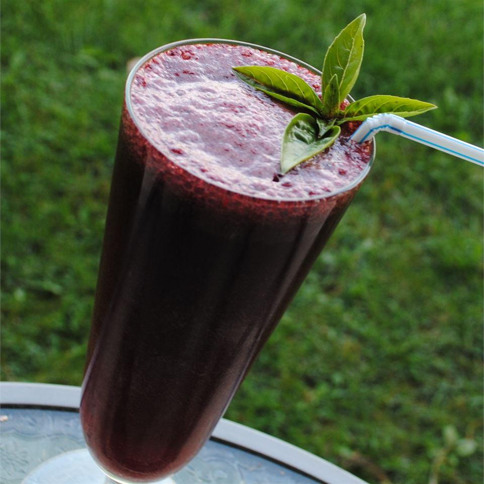 Refreshing Blueberry Soda