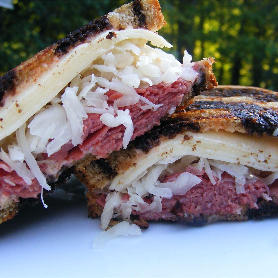 Broiled Reuben Sandwich