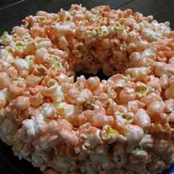 No-Bake Popcorn Cake
