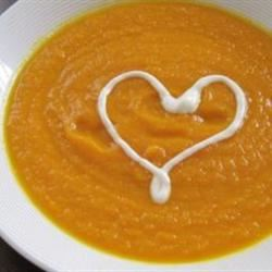 Creamy Carrot With Curry Soup Anastasiya