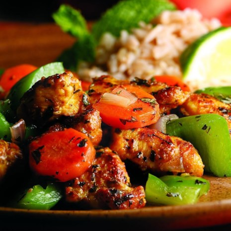 Wok-Seared Chicken & Vegetables (Kadhai murghi)