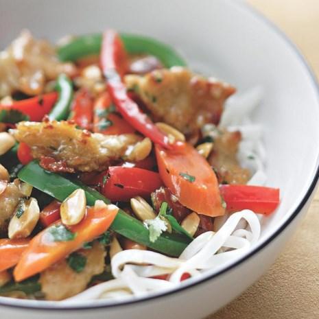 Garden-Fresh Stir-Fry with Seitan