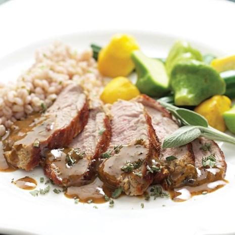 Mustard-Maple Pork Tenderloin