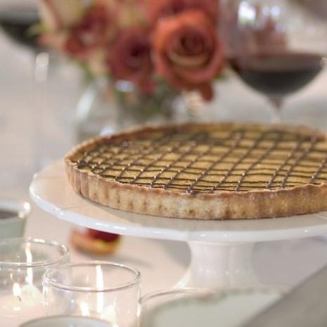 Tangerine-Chocolate Tart