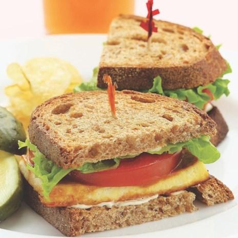 TLT (Tofu, Lettuce & Tomato Sandwich)