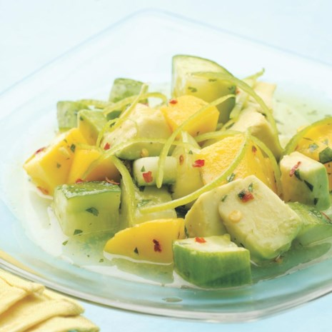 Tropical Cucumber Salad
