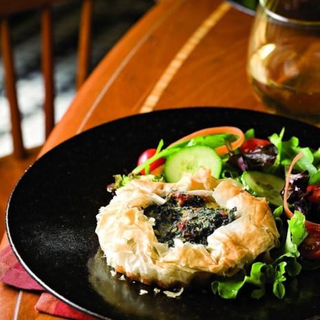 Crispy Phyllo Spinach Tartlets