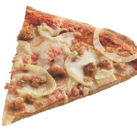 Turkey Sausage, Fennel & Fontina Pizza