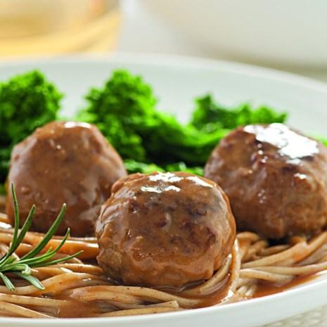 Lemon-Rosemary Turkey Meatballs