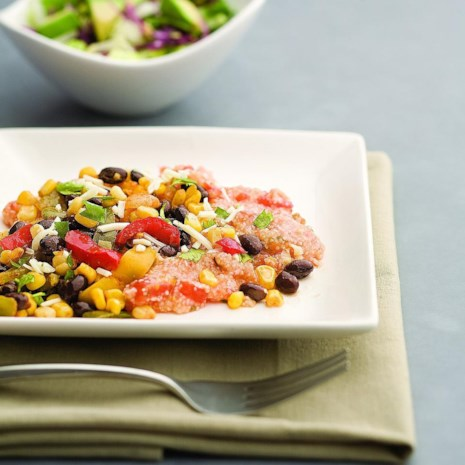 Southwestern Saute with Salsa Grits