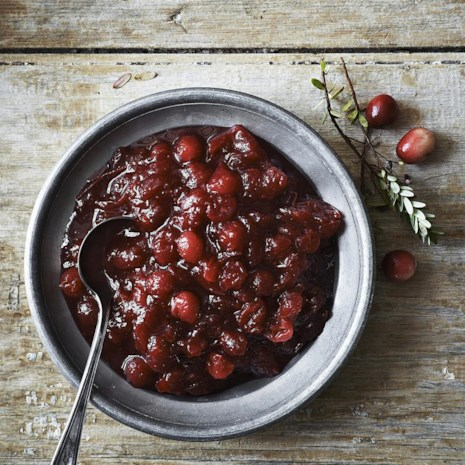 Cranberry Sauce with Star Anise