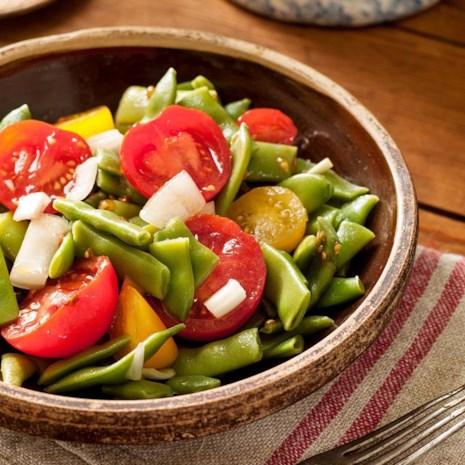Green Bean & Tommy-Toe Salad