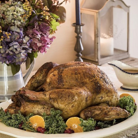 Bay-Spiced Roast Turkey