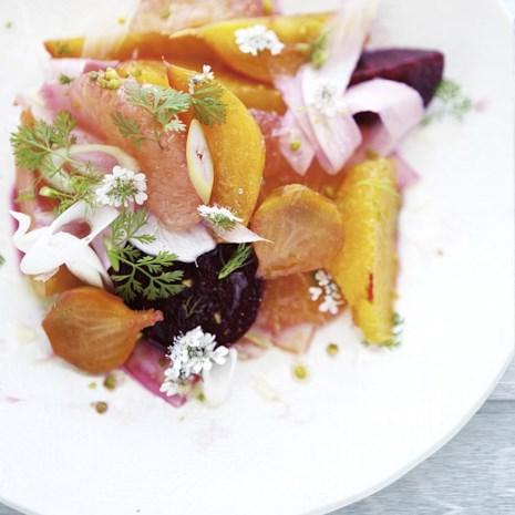 Fennel, Citrus & Roasted Beet Salad