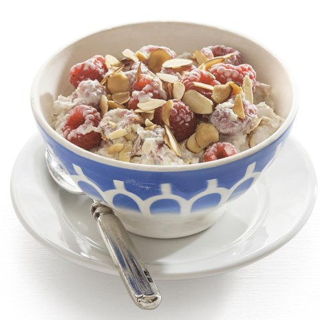 Raspberry Overnight Muesli