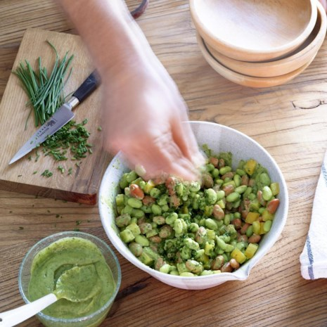 Super-Green Edamame Salad