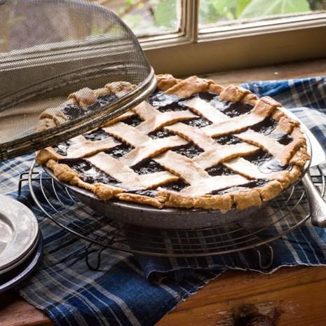 Maple Wild Blueberry Pie