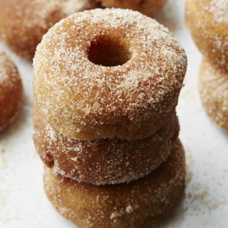 Apple-Cinnamon Mini Doughnuts