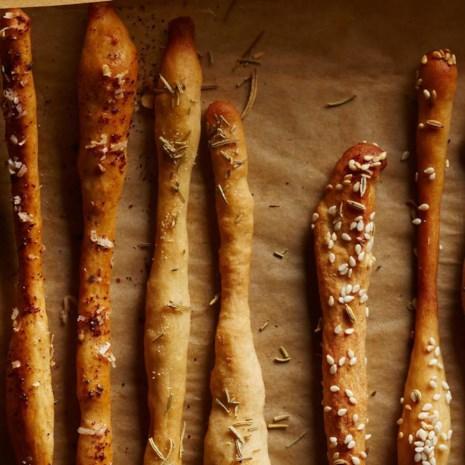 Rosemary & Garlic Breadsticks