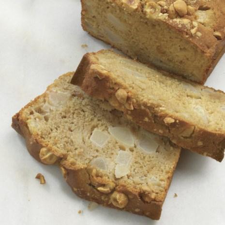 Pear-Hazelnut Quick Bread