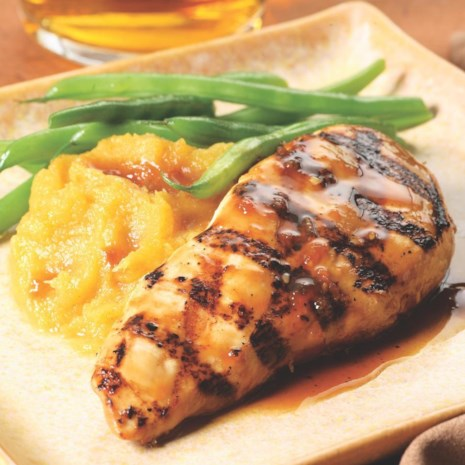 Maple-Glazed Chicken Breasts