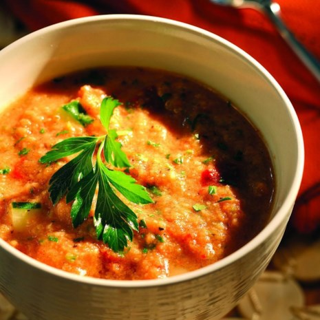 Grilled Tomato Gazpacho