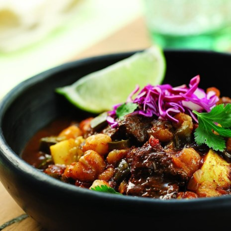Mexican Bison Stew