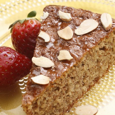 Flourless Honey-Almond Cake