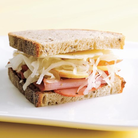 Turkey Pastrami Sandwich