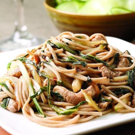 Pork & Bok Choy Stir-Fry