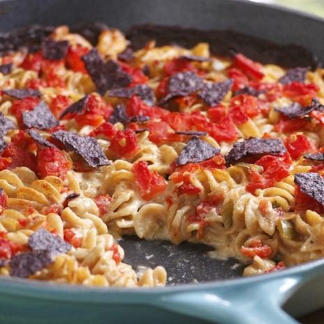 Tuna-&-Tomato Mac & Cheese