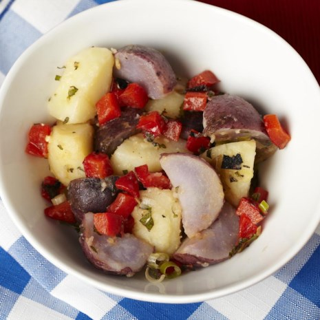 Red, White & Blue Potato Salad