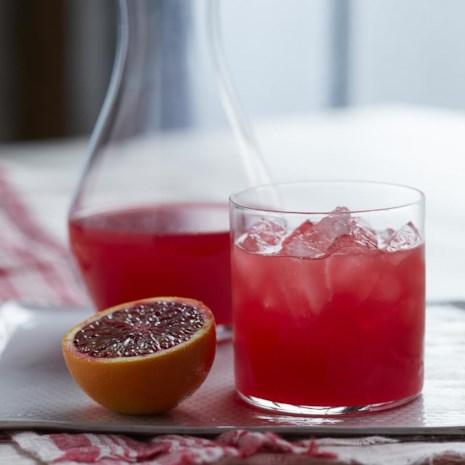 SHED's Blood Orange Champagne Vinegar Shrub