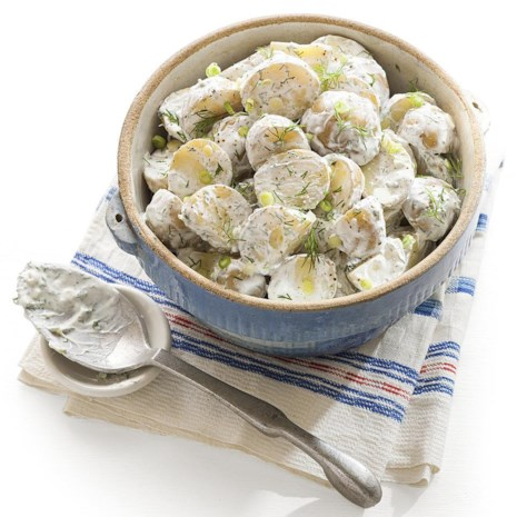 Scallion-Dill Potato Salad