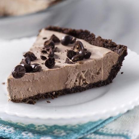 Mocha Ice Cream Pie