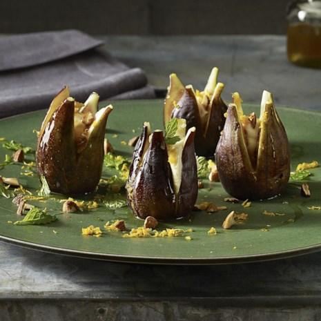 Mascarpone-Stuffed Figs