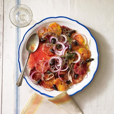 Orange, Anchovy & Olive Salad