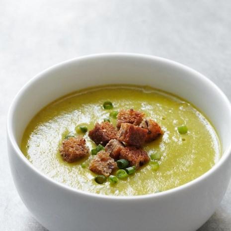 Creamy Asparagus-Potato Soup