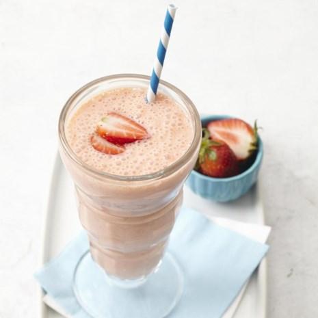 Strawberry-Banana Protein Smoothie