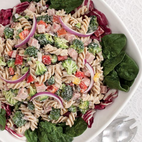 Broccoli, Ham & Pasta Salad