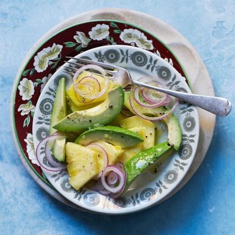 Pineapple & Avocado Salad