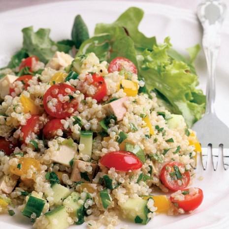 Quinoa & Smoked Tofu Salad