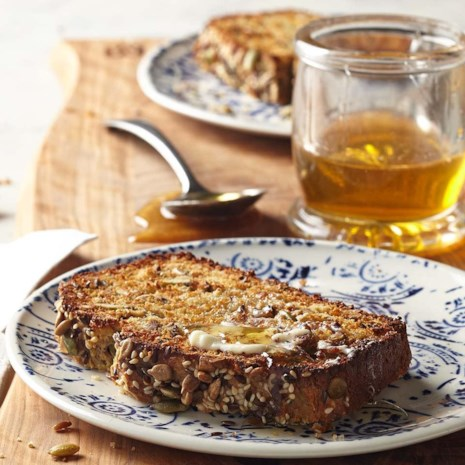 Seeded Whole-Grain Quick Bread